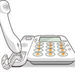NTTの固定電話で通話中を調べるには?話し中調べの番号は?