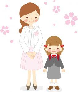 入学式のスーツは母親なら