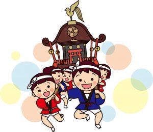 川崎小田の日枝神社の祭り