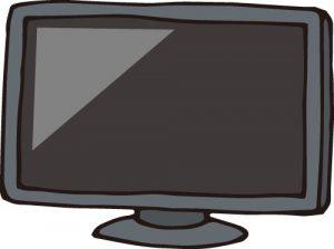 テレビが壊れた