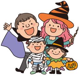 ハロウィンの家族での過ごし方